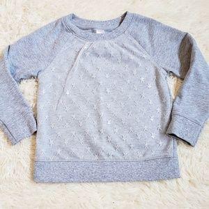 NWOT Cat & Jack star sweatshirt